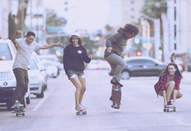 Scegliere skateboard da strada cruiser