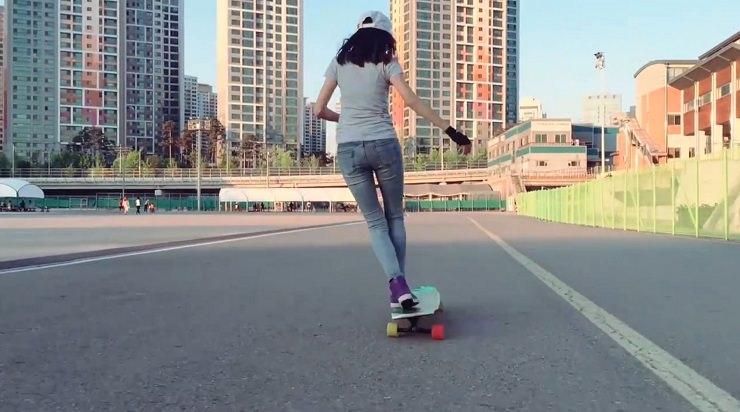 longboard dancing