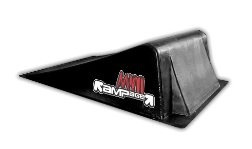 mini pista per skateboard rampage
