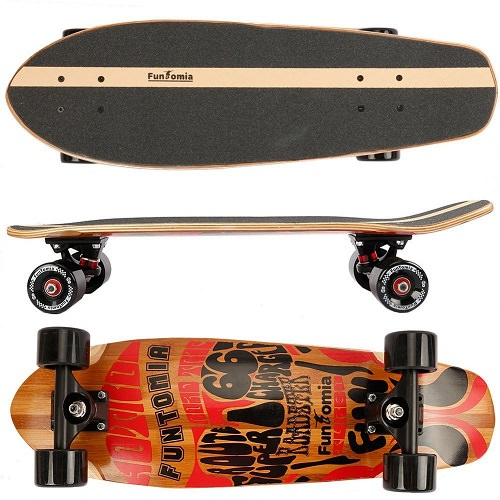 Funtomia skateboard: le nostre recensioni e le opinioni dei migliori modelli
