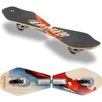 streetsurfing wooden wave