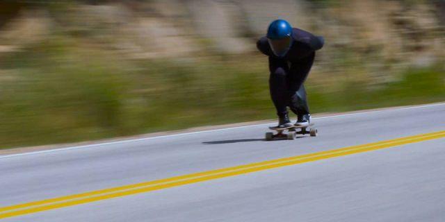 Record velocità skateboard Kyle Wester