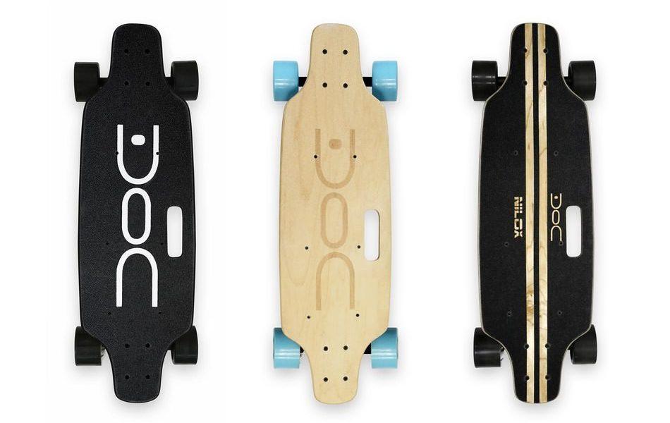 Skateboard elettrico nilox doc