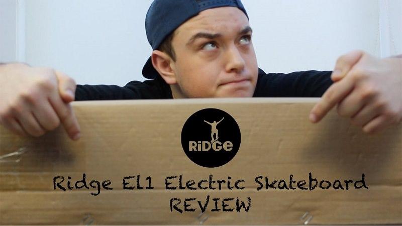 skateboard elettrcio ridge