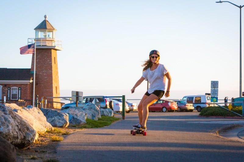 Santa Cruz skateboard longboard